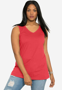 25f9f3e6905 Plus Size Tank Tops