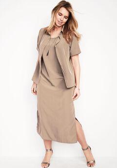 Jacket Dress Set,