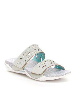 Wildflower Slide Sandals by JBU,