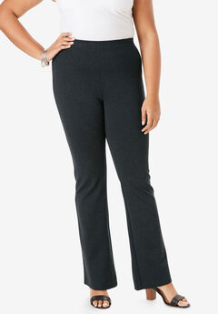 Ultimate Ponte Bootcut Pant, HEATHER CHARCOAL
