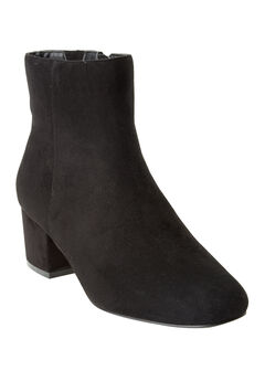 The Sidney Booties by Comfortview®, BLACK