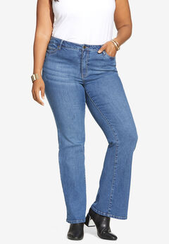 Flared-Leg Jean By Denim 24/7®,