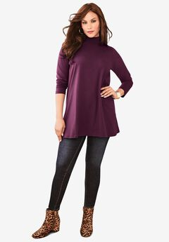 Mockneck Ultimate Tunic,