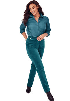 Velvet Jean by Denim 24/7®, MIDNIGHT TEAL