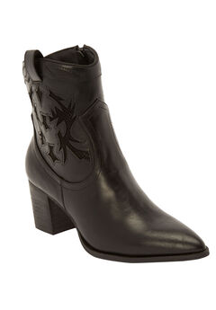 The Kima Bootie by Comfortview®, BLACK