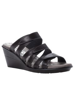 Lexie Wedge Slide Sandal by Prophet,