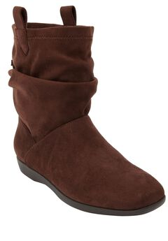 The Demy Bootie by Comfortview®, BROWN
