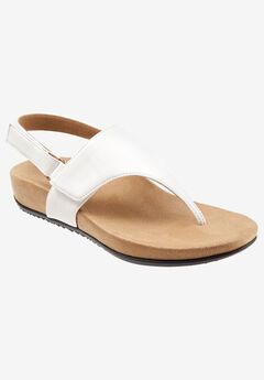 Paloma Sandal by Trotters®, WHITE