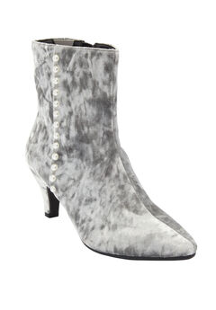The Larsa Bootie by Comfortview®, SILVER