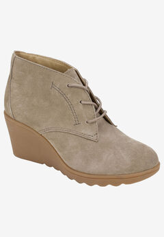 Kahlua Bootie by White Mountain, TAUPE SUEDE
