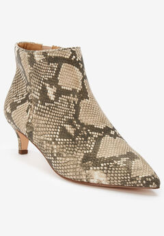 The Meredith Bootie by Comfortview®, NATURAL MULTI