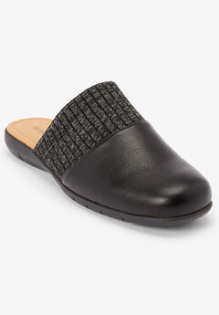 The Pippa Mule by Comfortview®, BLACK