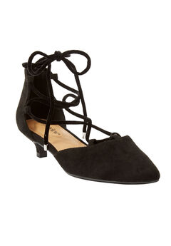 The Julieta Pump by Comfortview®, BLACK