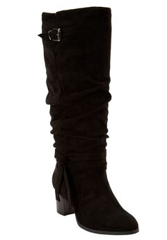 Brix Tall Calf Boot by Comfortview,