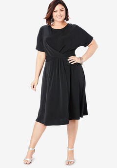 Ultra Smooth Twist-Front Dress,