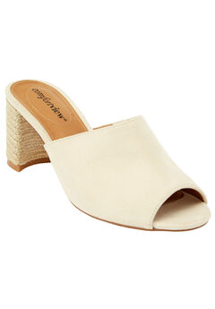 Ranet Mules by Comfortview®, OATMEAL