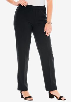 b7485610801 Plus Size Dress Pants   Work Pants for Women