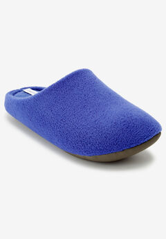 The Carita Clog Slipper by Comfortview®, BLUE SAPPHIRE
