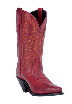 Madison Boots by Laredo, BURNISHED RED