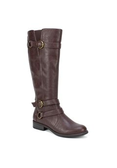 Loyal Wide Calf Boot by White Mountain,