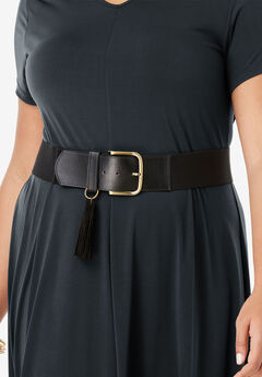 Stretch Tassel Belt,