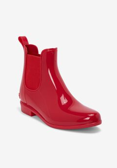 The Uma Rain Boot by Comfortview®, VIVID RED