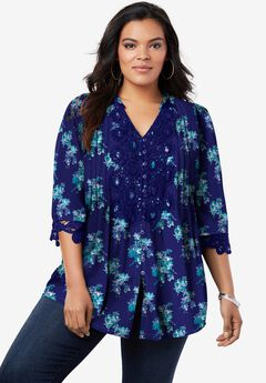 Juliet Lace Big Shirt,
