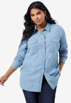 Olivia Denim Bigshirt,