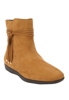 The Daphne Bootie by Comfortview®, BROWN MAPLE