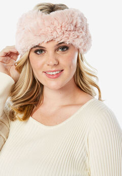 Faux Fur Headband,