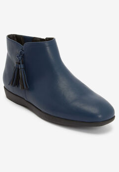 The Angelia Bootie by Comfortview®, NAVY