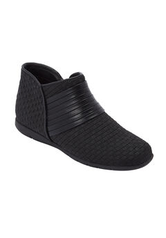 The Kayla Bootie by Comfortview®, BLACK