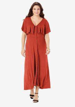 Flutter Midi Dress,