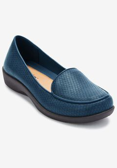 The Jemma Flat by Comfortview®, NEW NAVY