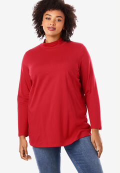 Mockneck Long-Sleeve Ultimate Tee,