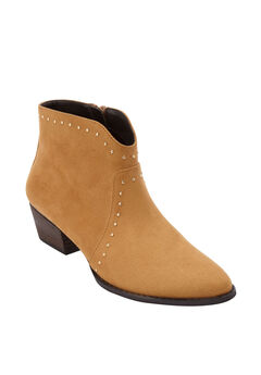 The Kimora Bootie by Comfortview®, BROWN MAPLE