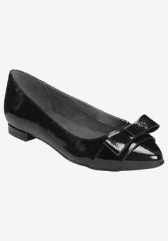Classy Girl Flat by Aerosoles®, BLACK