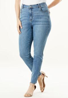 High-Rise Skinny Jean by Denim 24/7®,