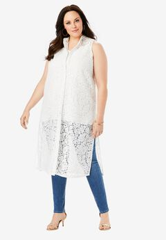 Lace Mega Tunic,