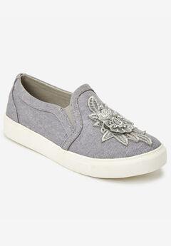 The Skyla Sneaker by Comfortview®, GREY
