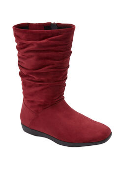 The Aneela Boot by Comfortview®, RICH BURGUNDY