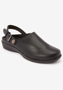 The Indigo Convertible Mule by Comfortview®, BLACK