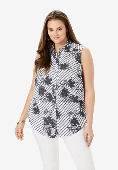 Sleeveless Kate Bigshirt,