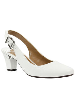Malree Pumps by J. Renee®, WHITE