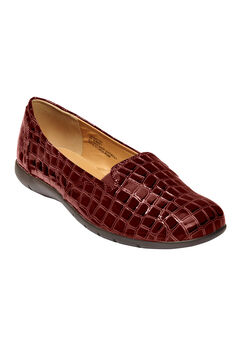 The Leisa Flat by Comfortview®, BURGUNDY
