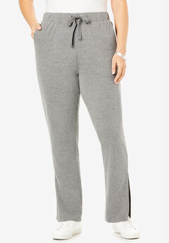 Flared French Terry Pant,