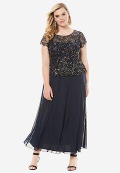 Sequin Bodice Dress by Pisarro Nights,