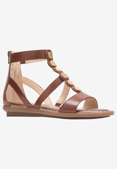 Olive Gladiator Sandal by Hush Puppies®,