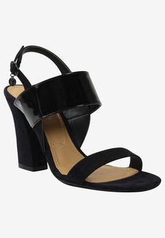 Emberley Sandal by J.Renee®, BLACK BLACK