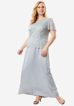 A-Line Lace Dress by Alex Evenings,